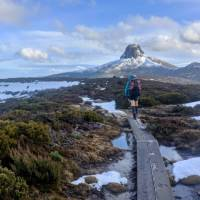 Walking The Overland Track in Winter | Nom Blaskhi