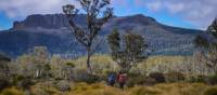 Trekking the spectacular Overland Track