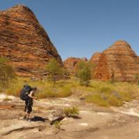 Trekking in the spectacular Bungle Bungles National Park   Steve Trudgeon