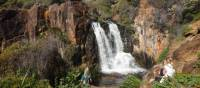 Explore remote waterfalls along the Cape to Cape trek