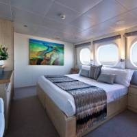 Explorer class cabin on True North