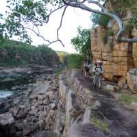 Exploring the river valley, The Kimberley's, Western Australia   Tim Macartney-Snape
