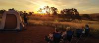 Camping in Karijini National Park