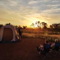 Camping in Karijini National Park