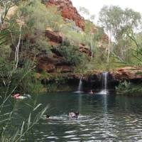 The spectacular gorges and swimming holes in Karijini National Park