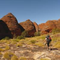 Trekking through Piccaninny Gorge in The Bungle Bungles, Western Australia | Steve Trudgeon