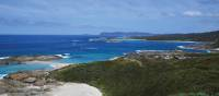Stunning coastal scenery on the Bibbulmun Track Walpole to Denmark section
