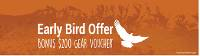 Gear Up with our Early Bird Offer