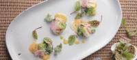Tasmanian scallops with chardonnay butter | Peter Kuruvita