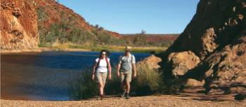Ellery Creek on the Larapinta Trail