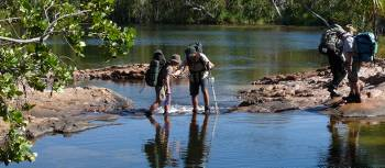 The Jatbula Trail guides look after the trekkers well | Steve Trudgeon