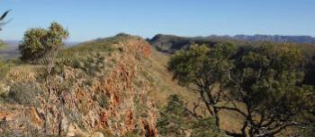 Counts Point is one of the most impressive lookouts on the Larapinta Trail | Larissa Duncombe