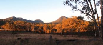 Sunrise on the Scenic Rim Trail