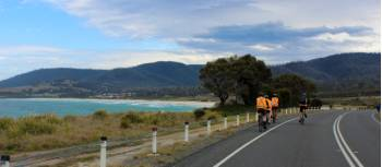 Cycling along the Tasmanian east coast | Oscar Bedford