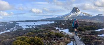 Walking The Overland Track in Winter | Nom Blaskhi