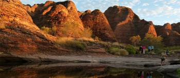 The distinctive red domes of the Bungle Bungles | Steve Trudgeon