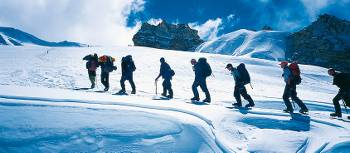Follow in the footsteps of Everest's famous mountaineers on our anniversary treks